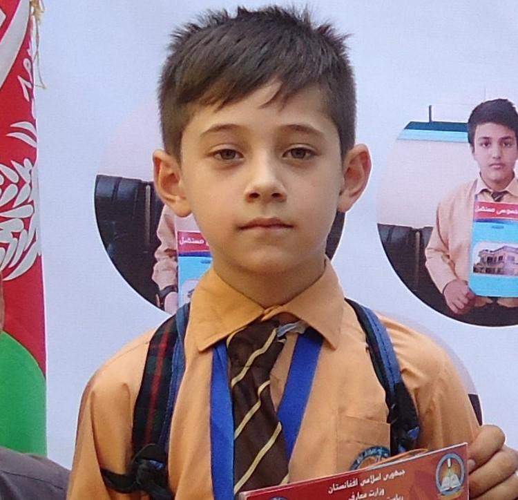 Mustaqbal School Student Khalid